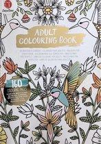 Luxe Volwassen Kleurboek Goud Luxe 160 kleurplaten - Kleurboek Voor Volwassenen