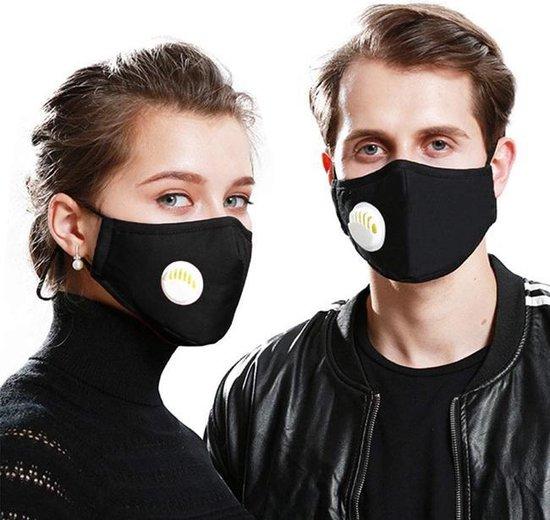 Uitwasbare mondmasker mondkapje met | zwart| trein | ov