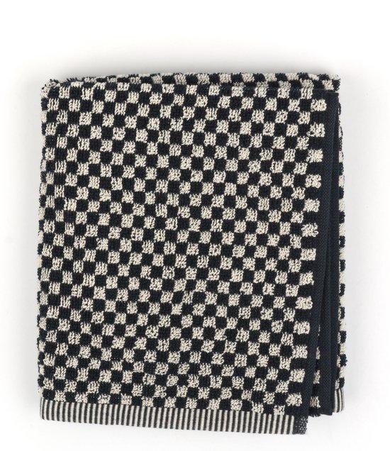 Keukendoek Bunzlau Castle Small Check 53x60cm, zwart - 6 pack
