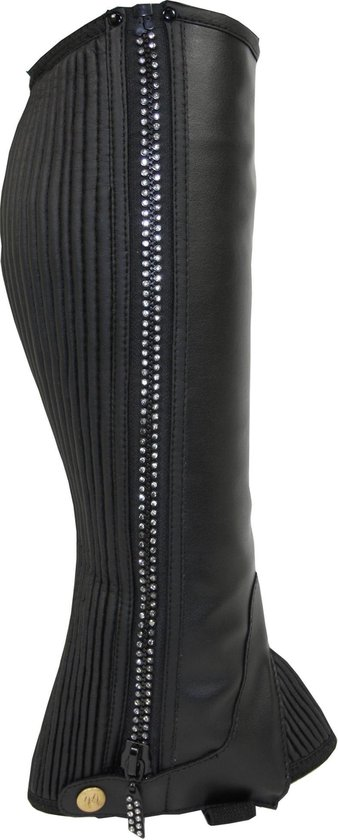 Rider Pro mini chaps Ohio - zwart - mt M