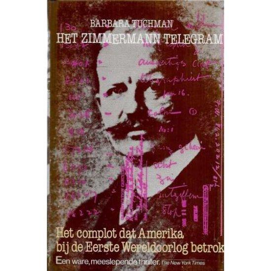 Boek cover Het Zimmermann Telegram van Barbara Tuchman (Onbekend)