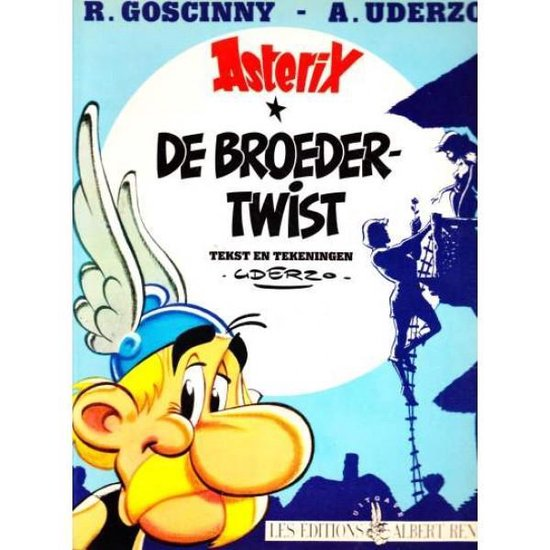 Boek cover Asterix 25. de broedertwist van Albert Uderzo (Onbekend)