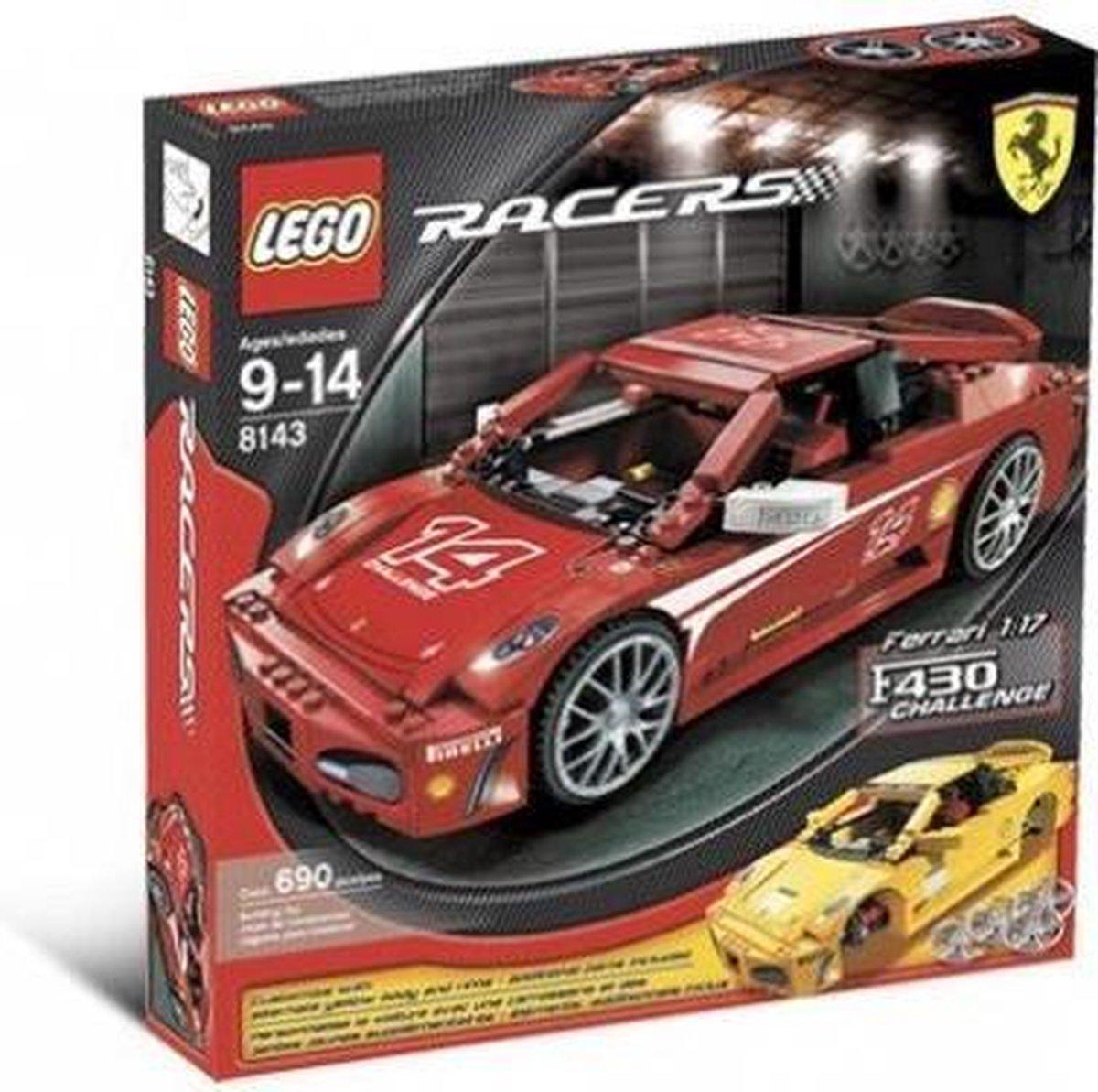 LEGO Racers 8143 Ferrari Challenge F430