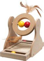Flamingo Krabspeelgoed Tumbler  - Hout -  30 cm