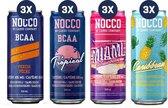 Nocco - No Carbs Company Nocco BCAA Drink - Mix Box - 3 x 4 smaken