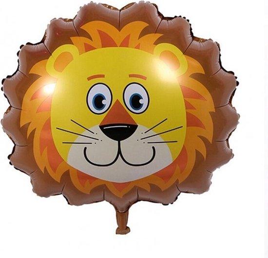 Safari versiering – Leeuw – Folieballonen – Jungle decoratie