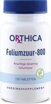 Orthica Foliumzuur-800  (vitaminen zwangerschap) - 120 Tabletten