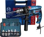 Bosch Professional Klopboormachine GSB 16 RE, 750 Watt, inclusief 100-delige...