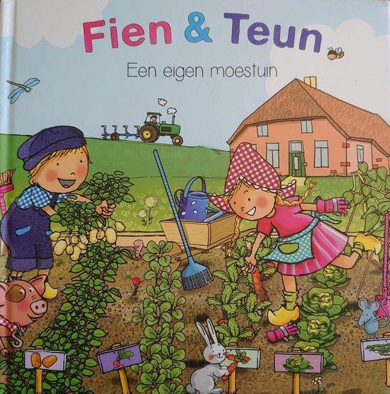 Boek cover Fien & Teun  -   Fien & Teun een eigen moestuin van van Hoorne Entertainment (Hardcover)