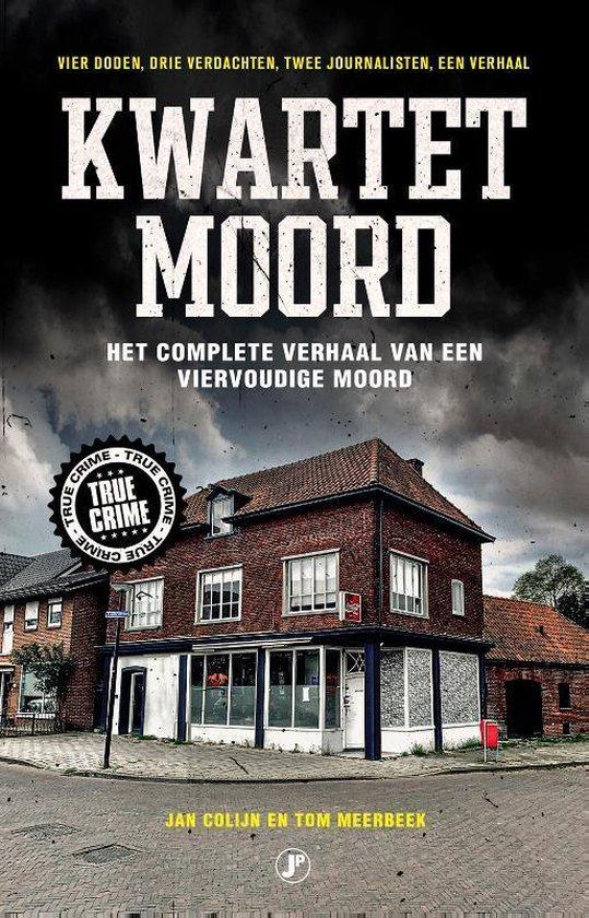 Boek cover Kwartetmoord van Jan Colijn (Paperback)