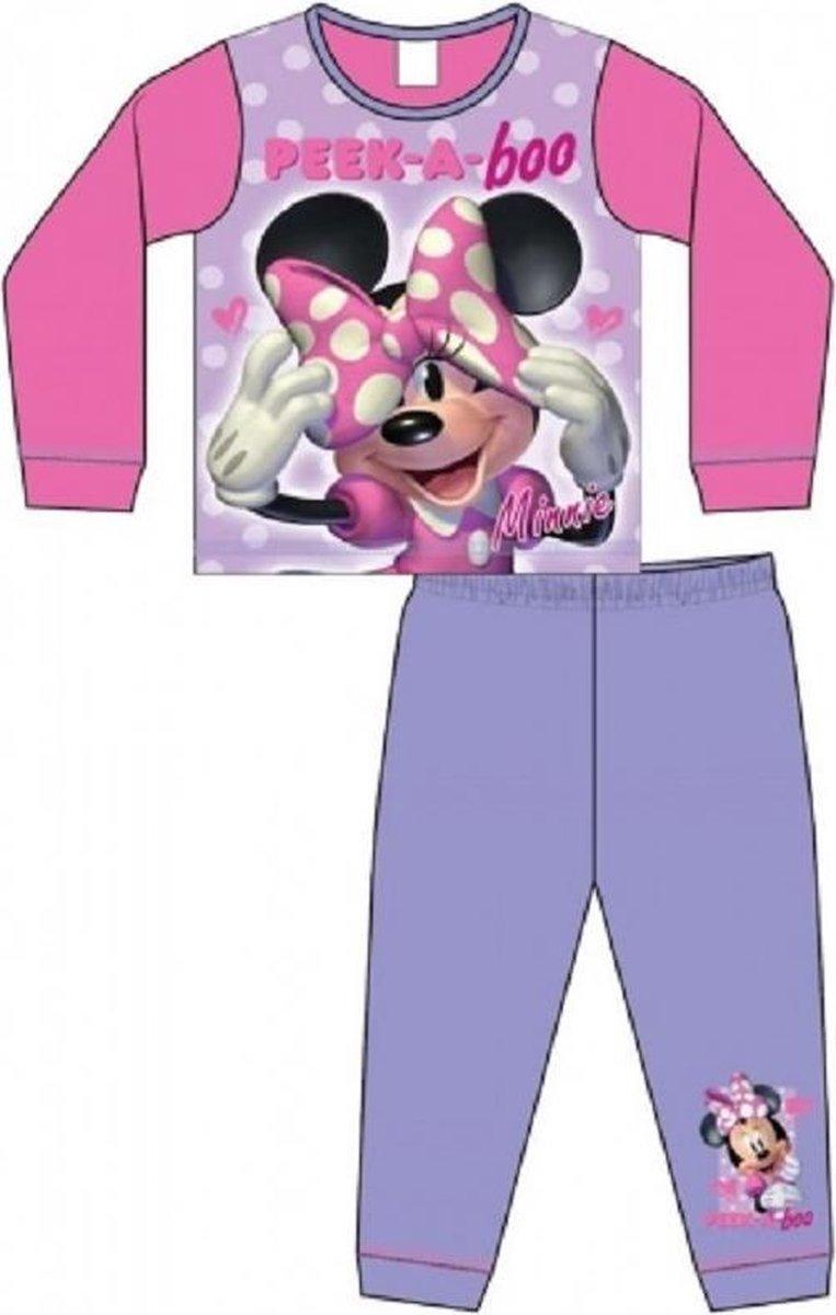 Minnie Mouse pyjama - maat 98 - Peek-a-Boo