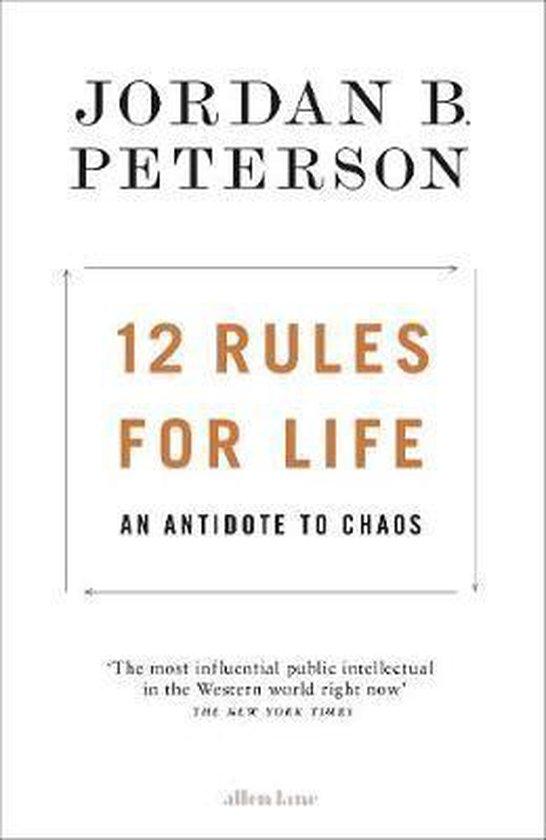 CD cover van 12 Rules for Life : An Antidote to Chaos van Jordan B. Peterson
