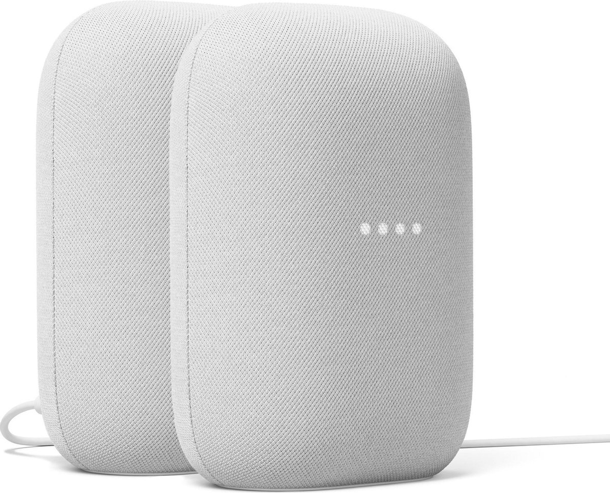 Google Nest Audio - Chalk - 2-pack kopen