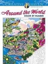 Creative Haven Around the World Color by Number
