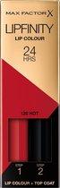 Max Factor Lipfinity Lip Colour Lippenstift - 120 Hot