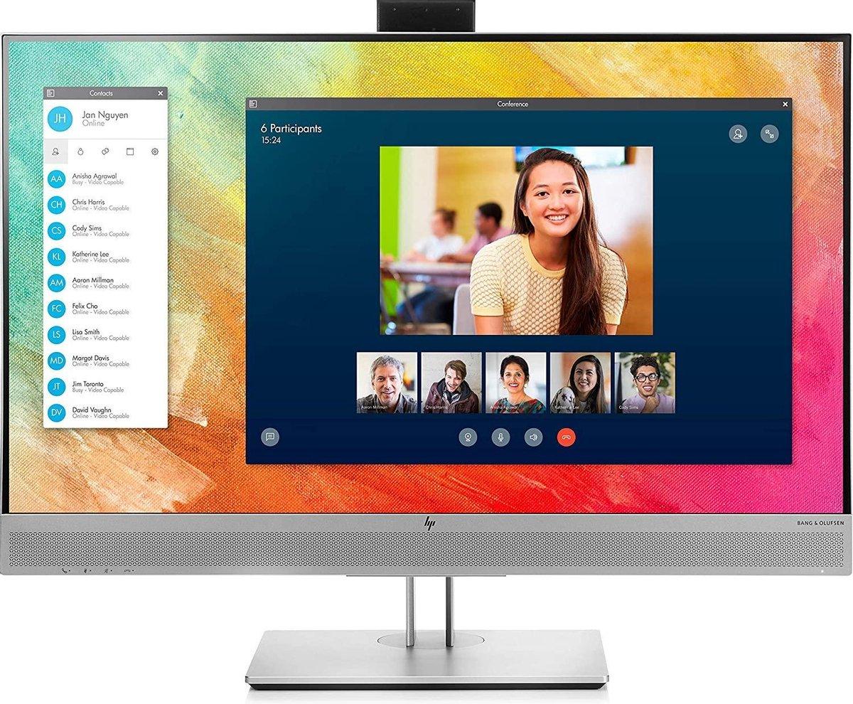 HP EliteDisplay E273m - Full HD USB-C IPS Webcam Monitor - 27 inch