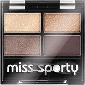 Miss Sports - Studio Colour Quattro Eye Shadow Quadruple Eyeshadow 403 Smoky Brown Eyes 5G