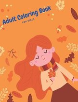 Adult Coloring Book For Girls