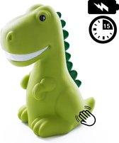 Dhink Dinosaurus Nachtlamp LED Oplaadbaar met Timer, Tap en Dimfunctie – Groen
