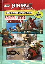 Boek cover LEGO NINJAGO masters of spinjitzu LEESBOEK - SCHOOL VOOR SCHURKEN - 3 NIEUWE VERHALEN van LEGO