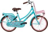 Popal Daily Dutch Basic Kinderfiets - 20 inch - Turquoise/Roze