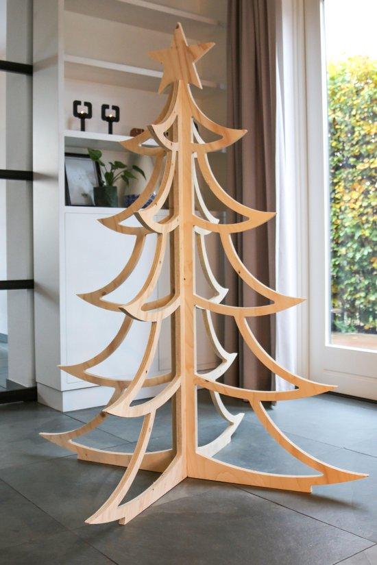 Houten Kerstboom - 160 cm