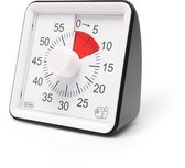 HomeTravelers Timer klok - Leerklok - Speelgoed voor kinderen - Zwart