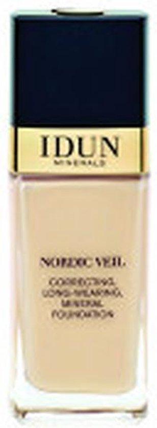 Idun Minerals Foundation – Vloeibare Foundation Freja – Licht Medium Warm