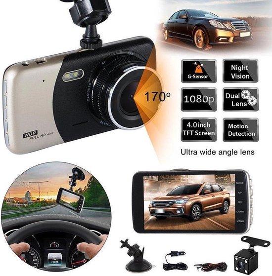 TecEye Dashcam HD Voor & Achter