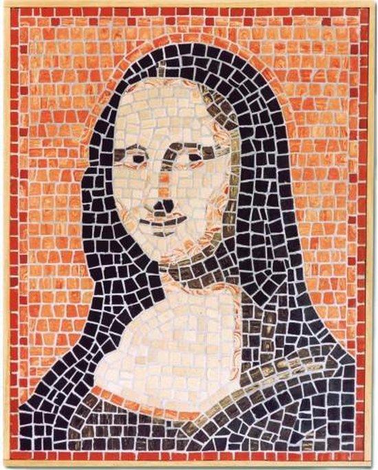 Mozaïek Mona Lisa- Steen