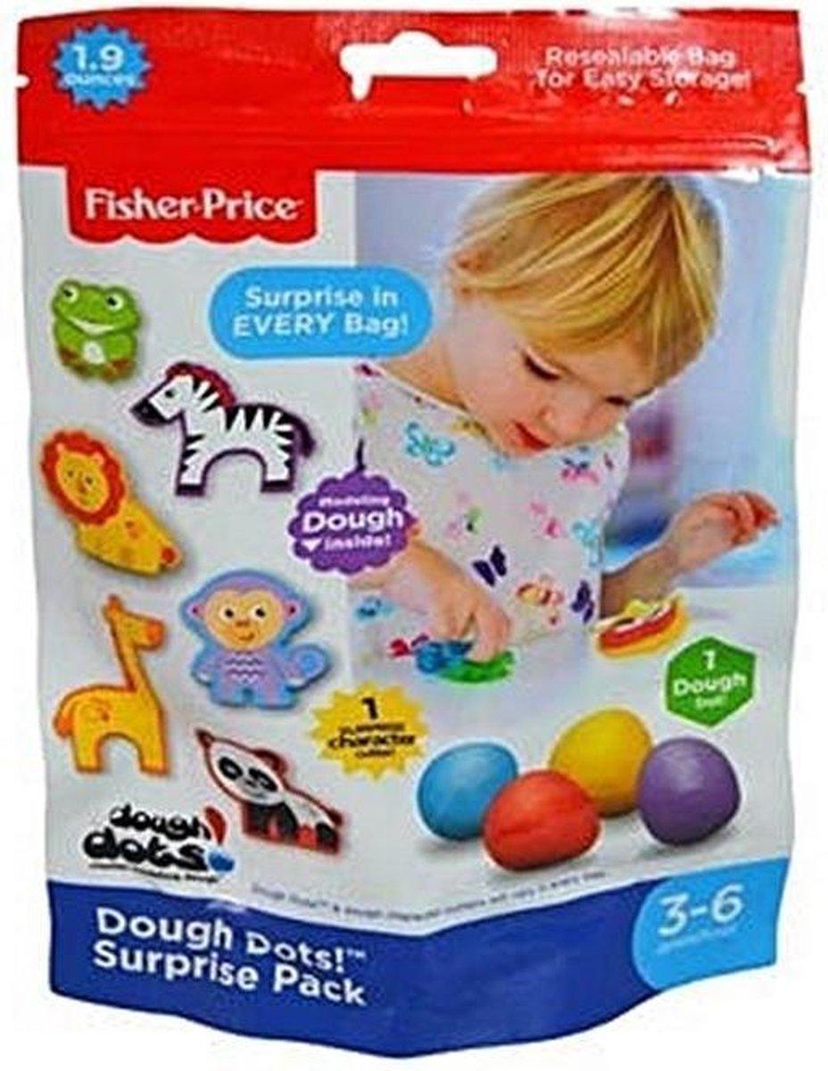 Fisher-Price Dough Dots Single Foil Bag - 1 stuk