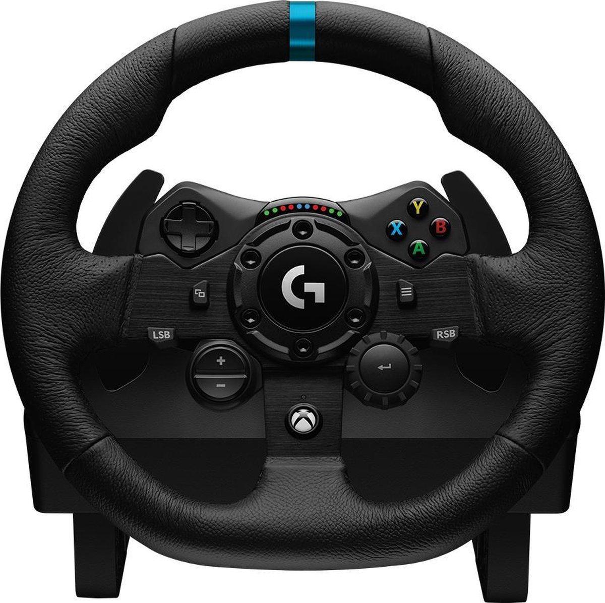 Logitech G923 TRUEFORCE Racestuur en pedalen -  Xbox Series X S, Xbox One & PC