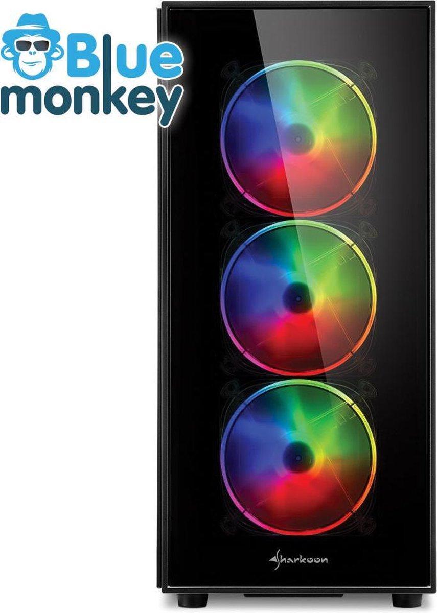 Blue Monkey Game PC: i7 11700k - RTX 3070 ti 8 GB - 1TB m.2 SSD - 16 GB RGB DDR 4 - WiFi & Bluetooth