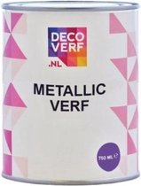 Decoverf metallic verf goud, 750ml