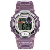 Coolwatch by Prisma CW.379 Kinderhorloge Digital kunststof/siliconen purple 38 mm