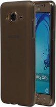 Wicked Narwal   TPU Hoesje voor Samsung Galaxy On 7 met verpakking Grijs