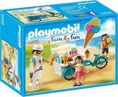PLAYMOBIL Family Fun IJsjesverkoper - 9426