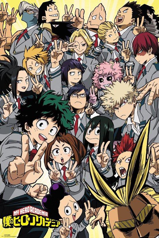 My Hero Academia poster Japans manga anime 61 x 91.5 cm.