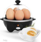 Gadgy Eierkoker Elektrisch - Capaciteit voor 7 eieren – Multifunctioneel: koken, pocheren, roerei, omelet – Vaatwasbestendig - Met buzzer