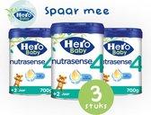 Hero Baby Nutrasense peutermelk 4 (2+jr) 3 STUKS