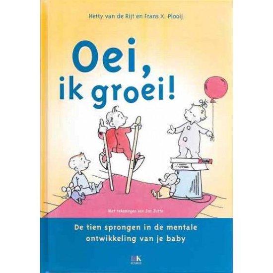 Boek cover Oei Ik Groei van Hetty van de Rijt (Hardcover)