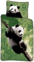 Ledikant dekbedovertrek Panda  100x140 cm