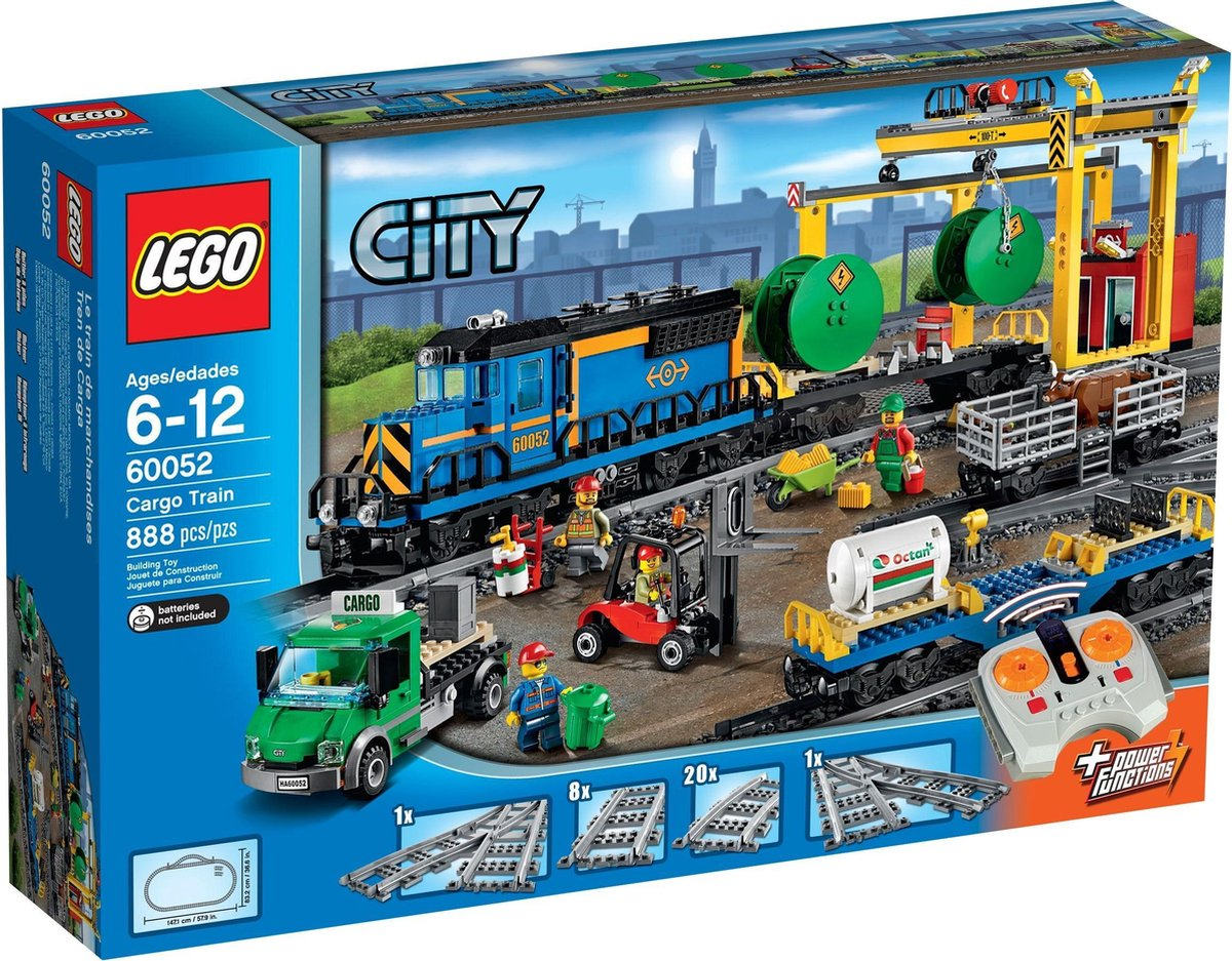 LEGO 60052 City De vrachttrein