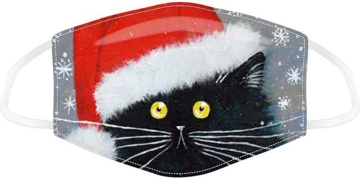 kerst mondkapje - kerst masker - kerst mondmasker - kerst - kerstmondkapje - kerst kat mondkapje - wasbaar mondkapje - kerst mondmasker - kerst cadeau - kerst kapje - mondkapje - christmas mask - mask - kap - mondmasker kerst