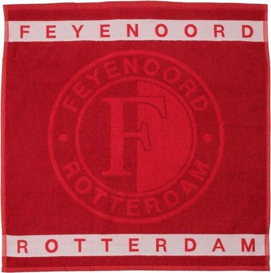 Feyenoord Keukendoek, rood/wit