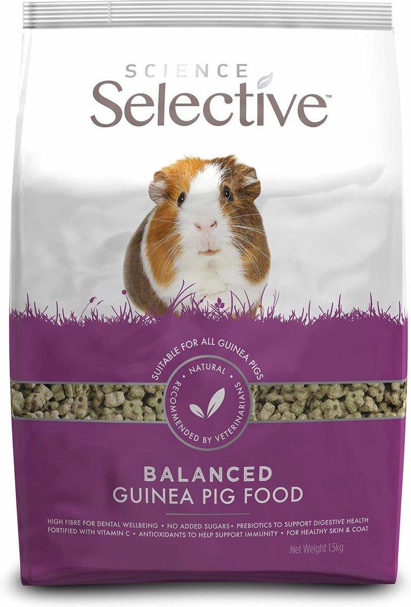 Supreme Science Selective Guinea Pig - Caviavoer - 10 kg