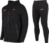 Nike AS Roma Tech Fleece Trainingspak 20-21 XS