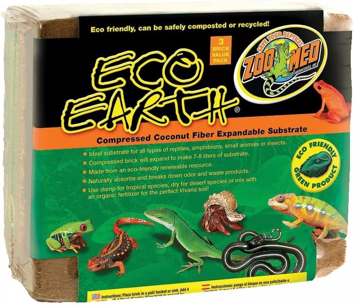 Eco Earth 3brick Value Pack ZooMed