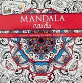 Mandala Cards Kleurboek Sensations Craft Rood