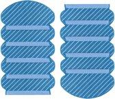 Dweil Pad Microvezel Natte Reiniging Vervanging Ecovacs Deebot Ozmo 920 / 950 , 10 Stuks